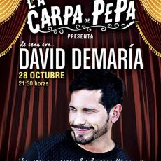 Comprar De cena con David Demaría en Chiclana de la Frontera