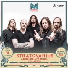 Comprar Stratovarius / Angelus Apatrida / Vhaldemar en Gijón (Eata)