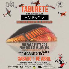 Comprar entradas taburete en valencia auditorio for Entradas concierto taburete