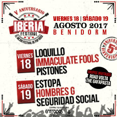 Comprar Iberia Festival 2017 V  Aniversario en Benidorm (EATA)