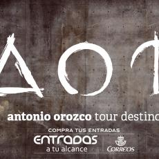 """Comprar Antonio Orozco """"Tour Destino"""" en Malaga"""